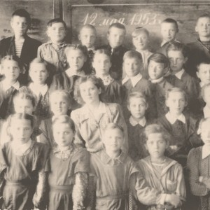 Senamiesčio 4 –tos vidurinės mokyklos 4B mokiniai